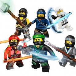 Ninjago Movie - 3. Команда Воинов